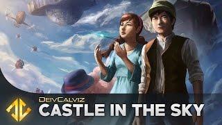 Laputa: Castle in the Sky by Hayao Miyazaki - Painting Process
