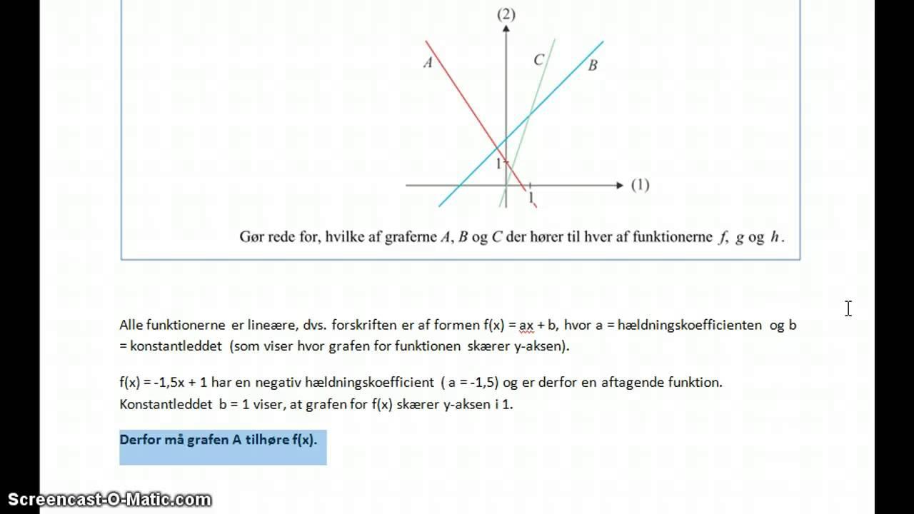 2012 05 31 - opg 1 (Lineære funktioner)