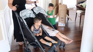 UNBOXING: JOOVY TWIN GROOVE ULTRA LIGHT UMBRELLA STROLLER - FIRST IMPRESSION
