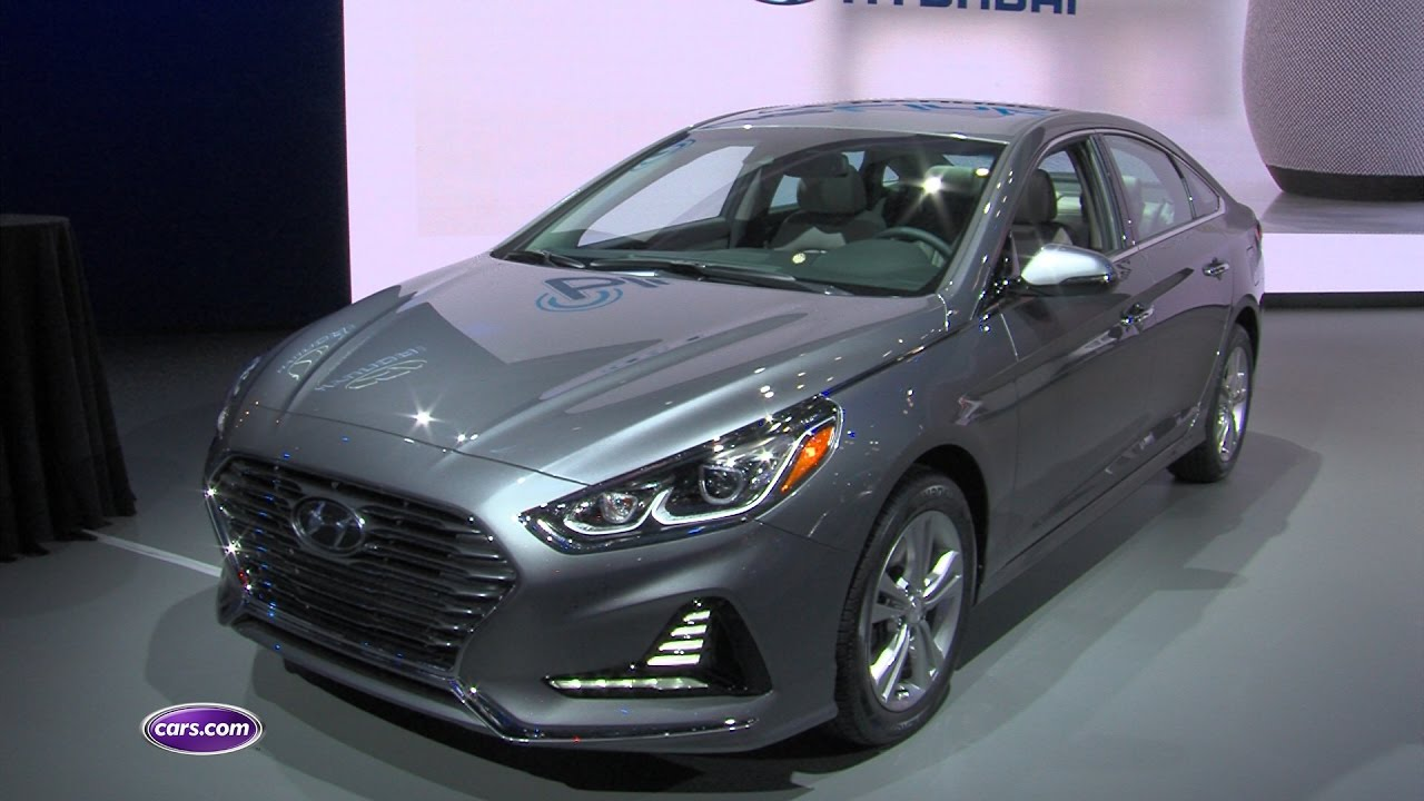 2018 Hyundai Sonata Review First Impressions