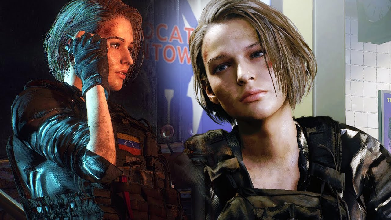 Resident Evil 3 Remake Jill Valentine Soldier Military Spec Ops