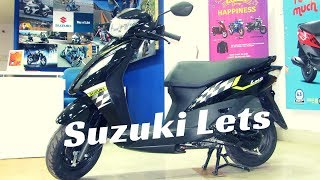 2018 New Suzuki Lets BS4 Dual Tone Full Detailed Walkaround Review | New Features, Price,etc
