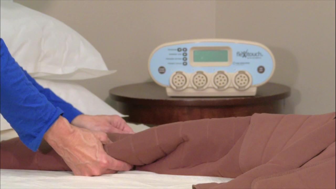 Flexitouch - Lymphedema Pump to Treat Leg Swelling & Venous