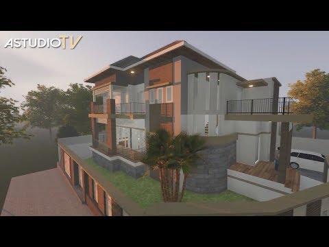 video-3d-animasi-rumah-7-milyar-konsep-dinding-batu-bata-ekspos-di-sentul-city