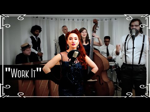 'Work It' (Missy Elliott) Beatbox Cover by Robyn Adele Anderson feat. Mark Martin
