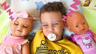 Ulya Pretend Play with Dolls, Are you sleeping brother John