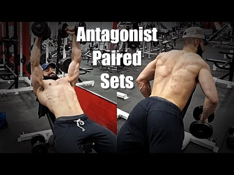 Antagonist Paired Sets (APS) | Better Than Supersets?! | Benefits, Example Workout, Tips
