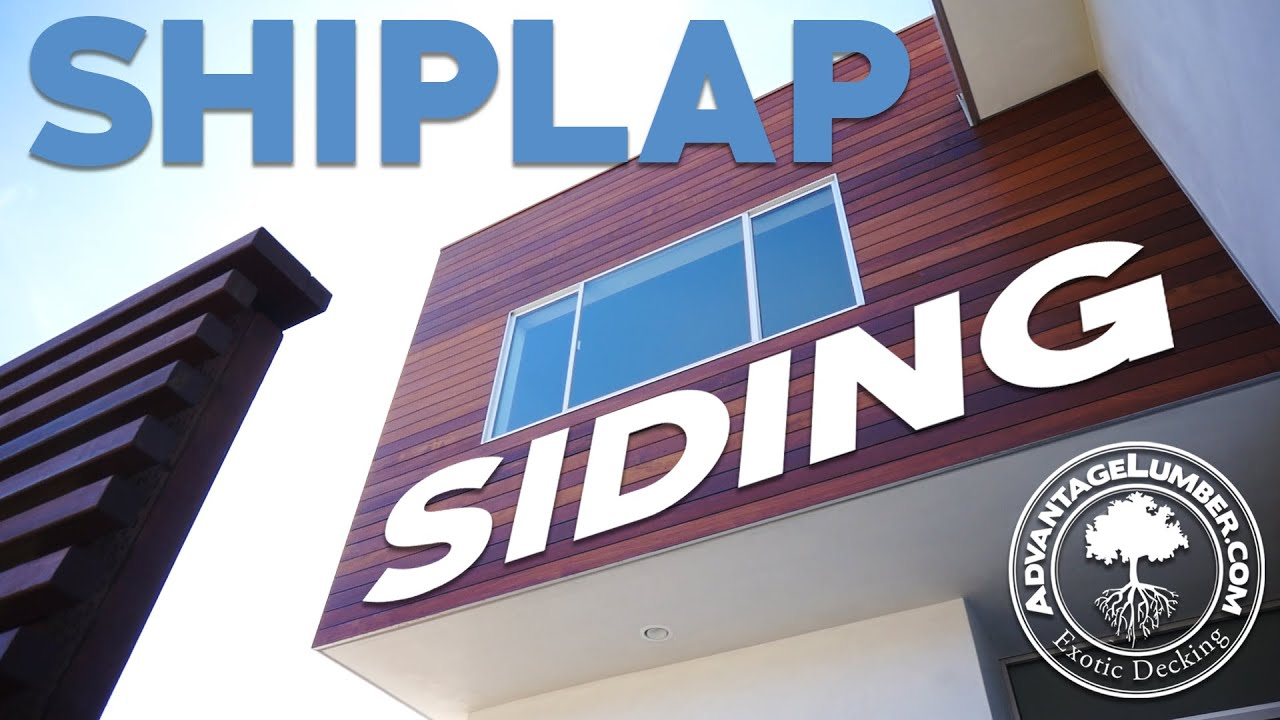 Advantage rainscreen shiplap siding wood siding for for Metal shiplap siding