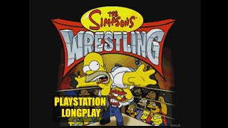 The Simpsons Wrestling | Playstation Longplay