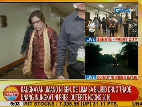 Kaugnayan umano ni Sen. De Lima sa Bilibid Drug Trade, unang inungkat ni Pres. Duterte noong 2016