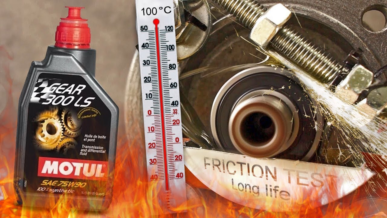 Motul Gear 300 LS 75W90 How well the gear oil protect the gearbox? 100°C