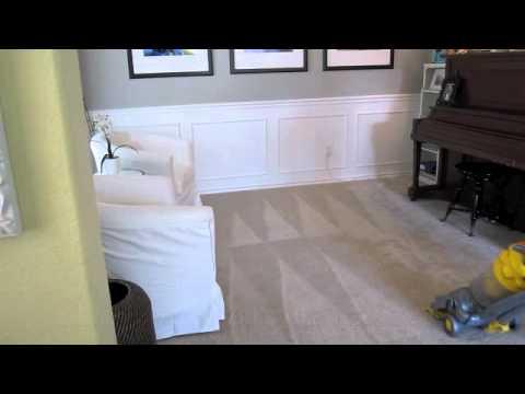 Create Perfect Vacuum Carpet Lines