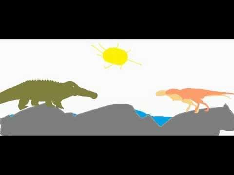 pckg-sarchosuchus vs abelisaurus (round 1 match 23)