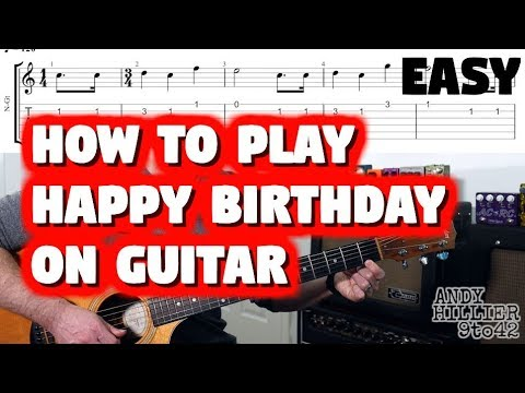 how-to-play-happy-birthday-guitar-lesson-tutorial