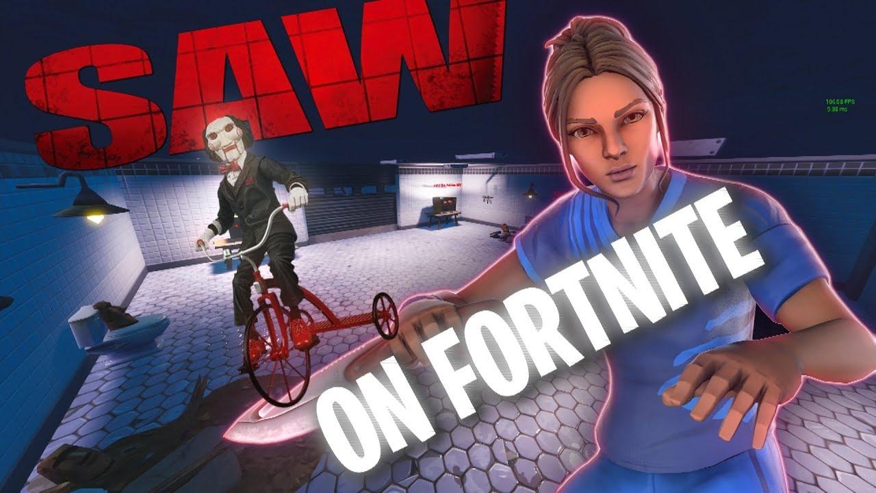 Escape From Saw Fortnite Escape Game Creative Map
