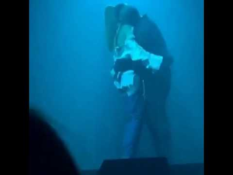 Drake Grabs Rihanna's Butt During Concert in LA