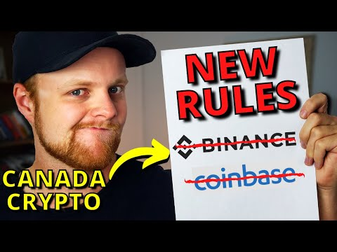 NEW Canada Crypto Rules   Will Binance/Coinbase Leave Canada?
