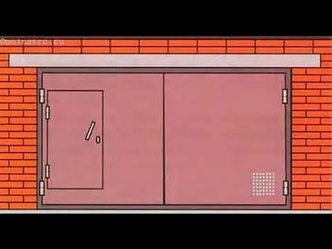 герметизация гаражных ворот пеной
