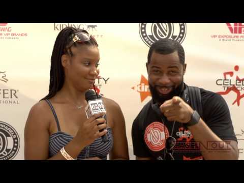 Celebrity Trackmeet Red Carpet with Actor Kedrick Brown