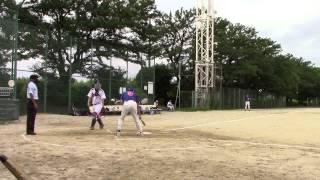 2015年8月23日(日)大森球場 ドージーズ3回表の攻撃を動画でレポート! ▷...