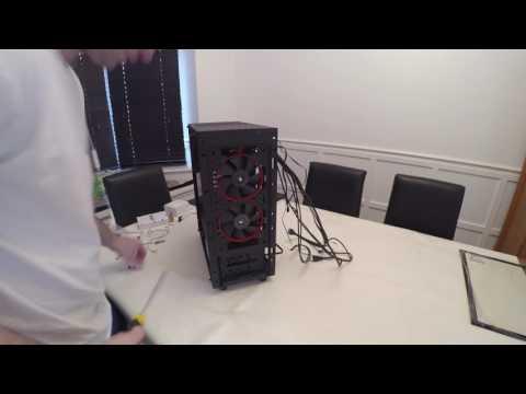 NZXT S340 Elite Upgrade, Time-lapse Build - 6700k, GTX 1070