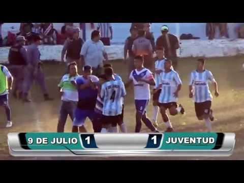 9 DE JULIO VS JUVENTUD (1-1) SUSPENDIDO A LOS 24 MIN DEL 2DO TIEMPO