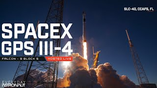 Watch SpaceX launch a next gen GPS satellite!