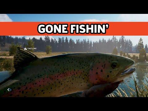 Far Cry 5 - Fishing Gameplay