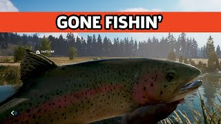 Far Cry 5 - Fishing Gameplay