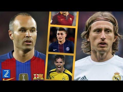 Los Posibles Sucesores de Luka Modric y Andrés Iniesta | Zicrone21
