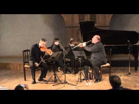 Aram Khachaturian trio for piano, clarinet and violin