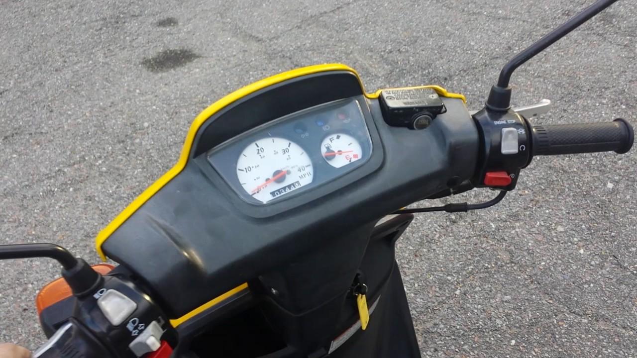 2003 Yamaha Zuma BWS Motor Scooter for sale 50cc