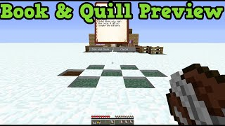 Minecraft Xbox One + PS4 Book and Quill tutorial (TU25 Feature)