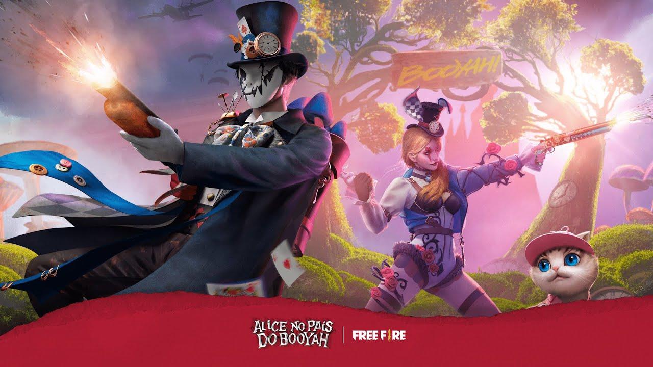 Passe de Elite: Alice no País do Booyah | Free Fire