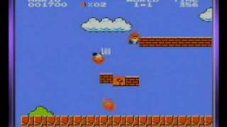 Classic NES Series: Super Mario Bros - Super Mario Bros Gameplay (GBA Version)