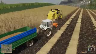 Żniwa z NH TX32 E2   Farming Simulator 19