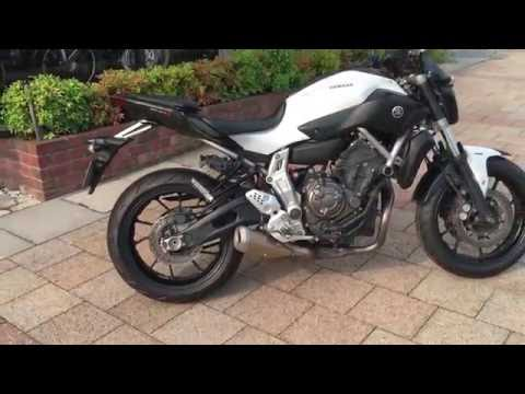 Yamaha MT-07 ABS 2014 Pearl White -For Sale at Apexmoto Inc