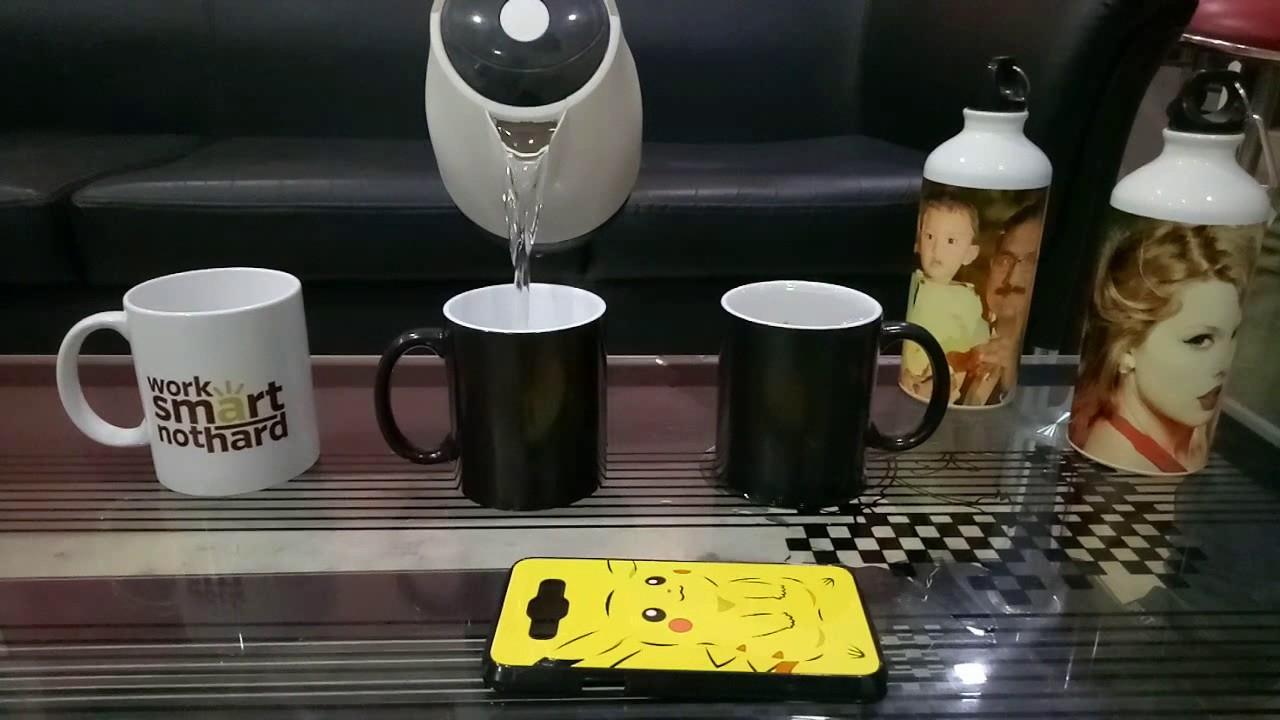 personalized magic mug youtube