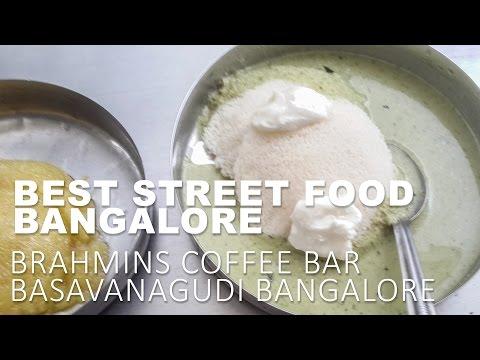 The Amazing Street Food of India Brahmins Coffee Bar – Basavanagudi street food
