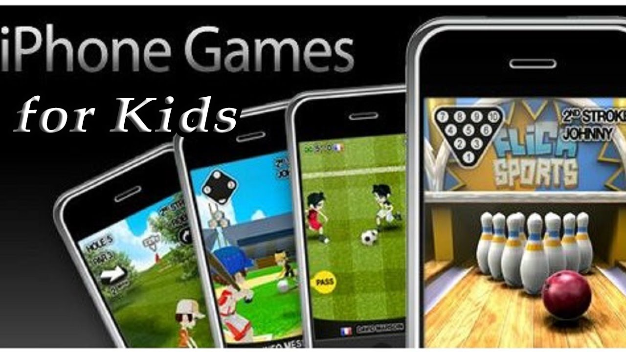 Top 10 Kids Games For Iphone Best Ios Games For Children