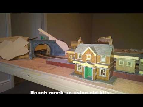 OO gauge 8×4 model railway build Part2