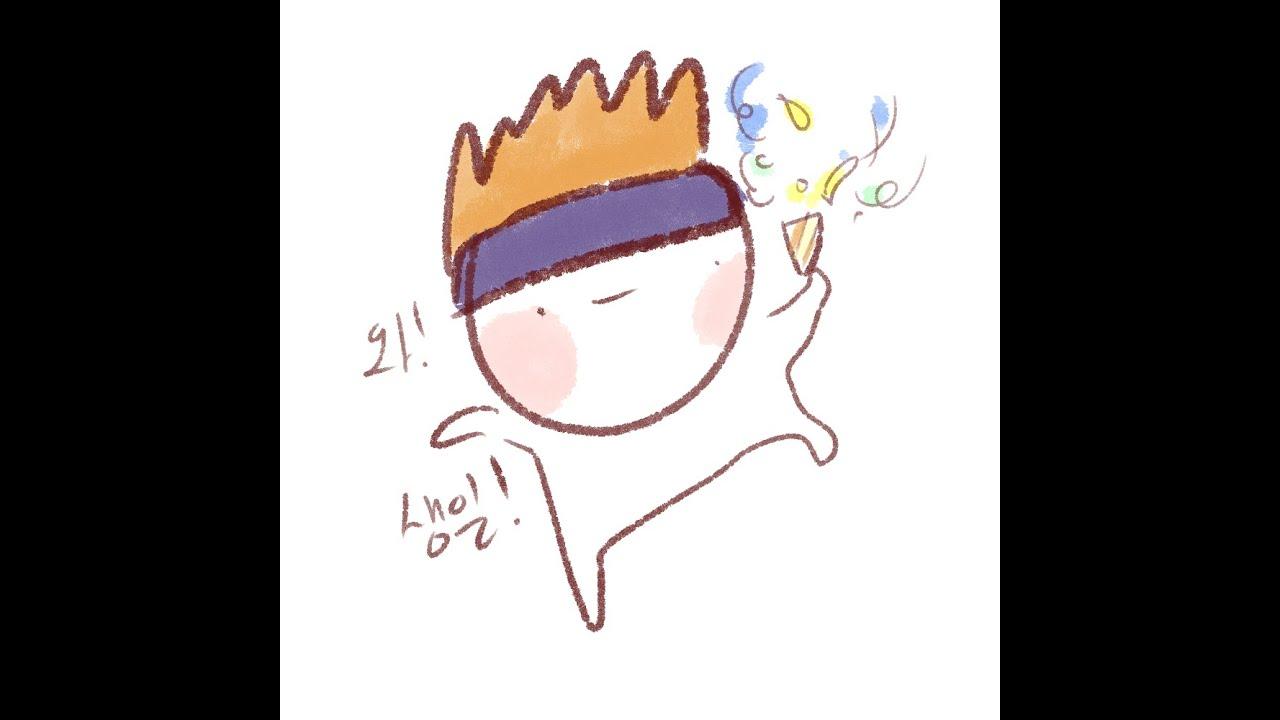 ㅇ ㅑ ! 정마노! 생일축하한다 ? ㅣ2020/6/19 정마노의 21번째 생일