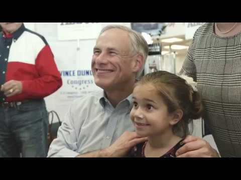 Texas Governor Greg Abbott Wins Re-election