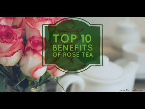 Top 10 Benefits of Rose Tea