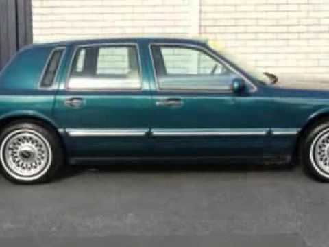 1997 Lincoln Town Car Hilbish Ford Mercury