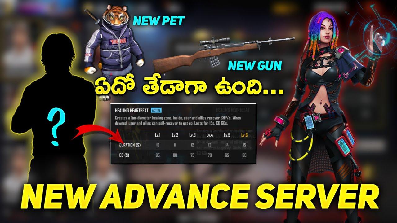 New Advance Server OB29 | New Mysterious Characters | NewPet | New Gun - Free Fire Telugu - MBG ARMY