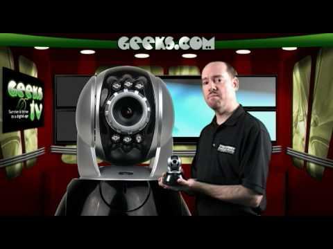 Wireless Internet Security Camera - Internet EYE IP Internet Security Camera M6840