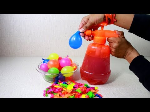 Baloon Water Pump for Holi 2019😍😍 | Unbox/Test & Review in Hindi