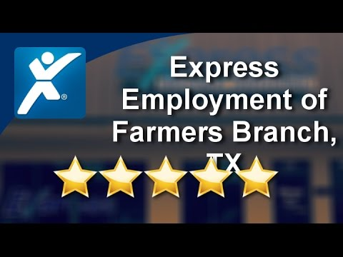 Express Employment of Farmers Branch, TX | Perfect 5 Star Review by Gabrielle W.