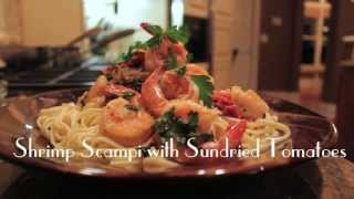 Shrimp Scampi With Sun Dried Tomatoes